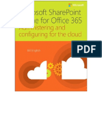 Microsoft SharePoint Online for Office 365 - Administering and Configuring for the Cloud