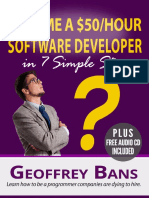 How To Be A $50 Per Hour Software Developer by Geoffrey Bans