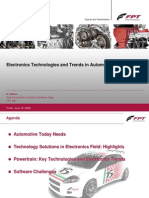 Electronics Technologies and Trends in Automotive field
