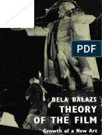 Becc81la Balacc81zs Theory of the Film the Character and Growth of a New Art