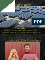 Solar Pannel Roadways