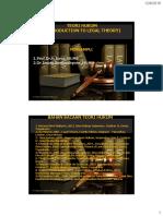 Hadsout - Teori Hukum