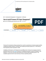 How to Install Primavera P6 Project Management_ _ Civil Engineering Blog