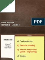 IGCSE Section 2