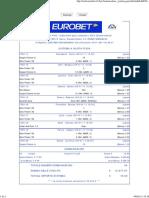 Eurobet - Giornata 19