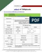 Datasheet of Tildipirosin|CAS 328898-40-4|sun-shinechem.com