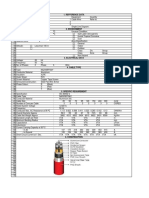 MGS Power Cable Datasheet