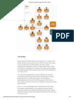 Susunan Dan Struktur Organisasi KPPIP - KPPIP