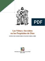 ANEXO 1 Los Ninos-As en El Proposito de Dios PDF