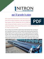 api-5l-grade-b-pipe