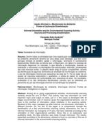 A Informação Informal e a Monitoração do Ambiente Fontes e Exploração e Disseminação