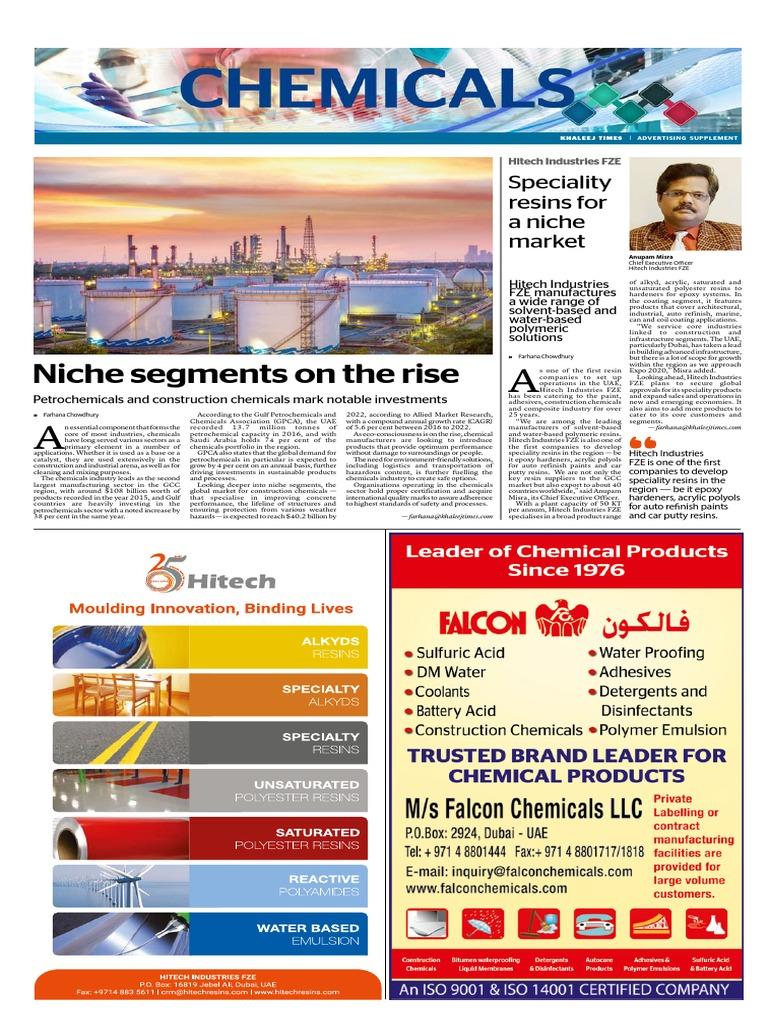 Chemicals (2) pdf   Epoxy   United Arab Emirates