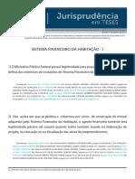 Jurisprudência em teses 86 - Sistema Financeiro da Habitação - I