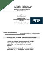 Cidades e Regiões Inteligentes – uma reflexão sobre o caso português