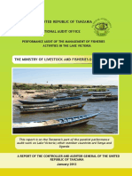 Managment of Fisheries on Lake Victoria