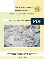 Management of HealthCare Waste