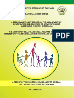 Management of Most Vulnerable Children