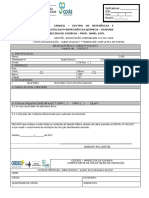 Ficha de Inscrição Processo Seletivo