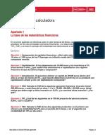 La Base de Las Matemáticas Financieras - Xavier Puig - Gemma Cid - Ejercicios Para Calculadora