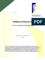 Intelligence Monitoring