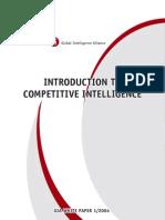 Competitive Intelligence Pdf