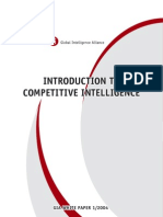 Introduction to Competitive Intelligence