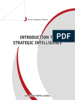 Introduction to Strategic Intelligence