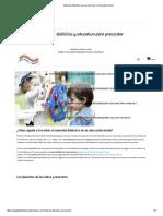 Material Didáctico Para Preescolar y Educación Inicial