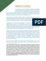 Decreto Nacional 1278 de 2002 Comentado