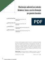 Monitoração ambiental em contextos dinâmicos busca e uso de informação por gerentes bancários