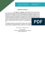 Estacio - Comunicado ao Mercado - Alteração na proposta de reforma do Estatuto Social da Companhia