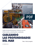 Tendido de Cables Submarinos