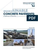 Sustainable Concrete Pavement