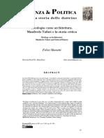 Felice Mometti, Ideologia Come Architettura