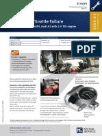 Engine throtle failure