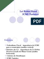 Lei Robin Hood - ICMS Turístico