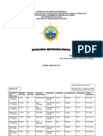 Bitacora Meteorologica
