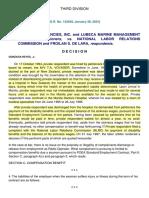 German Marine Agencies Inc vs Nlrc 142049 January