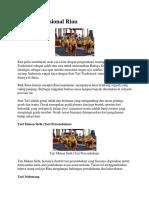 Tarian Tradisional Riau Xxx