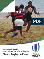 Beach Touch Rugby ES