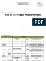 Guia de Interacoes Medicamentosas