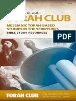 FFOZ TorahClub Catalog