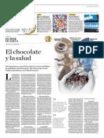 El Chocolate y La Salud