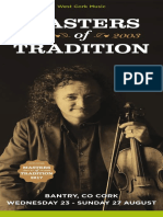Masters of Tradition 2017 Programme