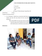 Laporan Penyuluhan Tim Pkrs Di Ruang Bkia 13062017