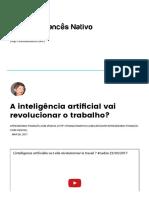 A inteligência artificial vai revolucionar o trabalho_ – FrancêsNativo.pdf