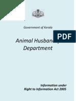 Cattle Farm Rules Kerala