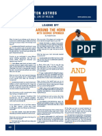 Game Day Magazine - Leading Off