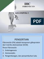 Fibronectin PPT IHC Kelompok 2