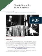 Luigi Pirandello. Il Berretto a Sonagli